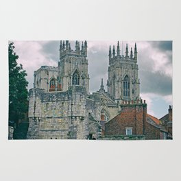 York Minster and Bootham Bar Rug