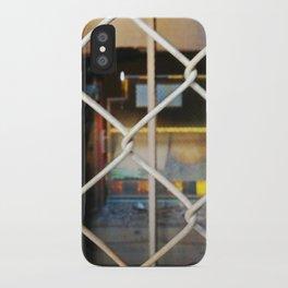 Abandoned X iPhone Case