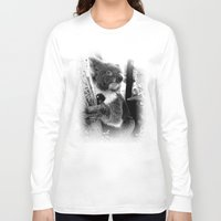 koala Long Sleeve T-shirts featuring Koala by Alan Hogan
