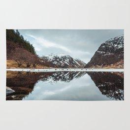 Reflected Mountain Rug