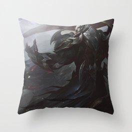 God King Darius League Of Legends Throw Pillow