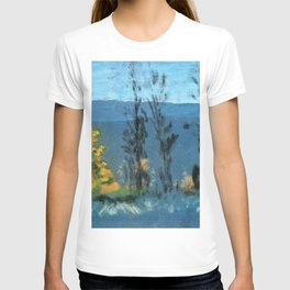 View Through Poplars - Arthur Bowen Davies T-shirt