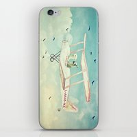 never stop exploring iPhone & iPod Skins featuring Never Stop Exploring III by Monika Strigel®