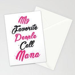 Nana Mom Mother Day Funny Stationery Cards