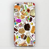 dessert iPhone & iPod Skins featuring Dessert! by nerdwaffles