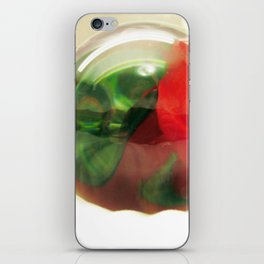 Red Roses Floral Visual Effect Art Photography iPhone Skin