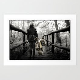 Is There Some Future Out There ... Art Print