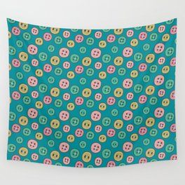 Pattern Project #31 / Buttons Wall Tapestry