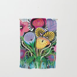 Dripping Gardens Wall Hanging