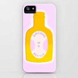 Sunshine in a Bottle iPhone Case