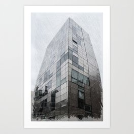 245 10th Ave off Highline Park Art Print