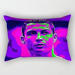 Ronaldo - Neon Rectangular Pillow