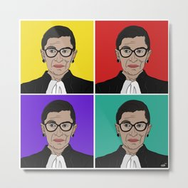 RBG in RGB Metal Print