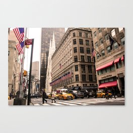 ArtWork New York City Photo Art Canvas Print