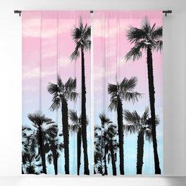 Tropical Palm Trees Dream #4 #tropic #decor #art #society6 Blackout Curtain