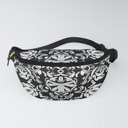 Abstract Flora Fanny Pack