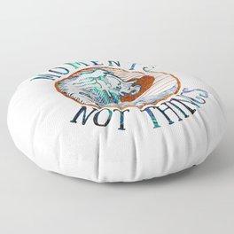 Collect moments Floor Pillow