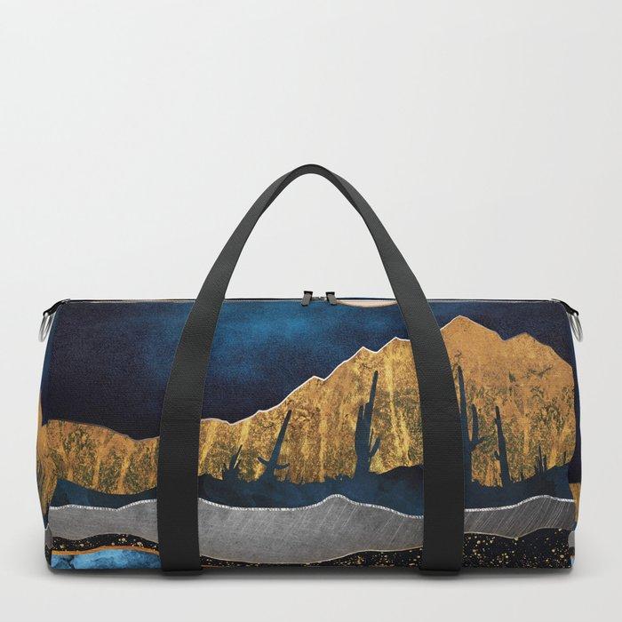 Midnight Desert Moon Duffle Bag