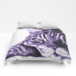 Truffle (Purple) Comforters