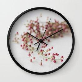 Pink Pepper Wall Clock