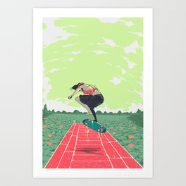 [ LET YOURSELF GO! ] the vietnamese lady Art Print