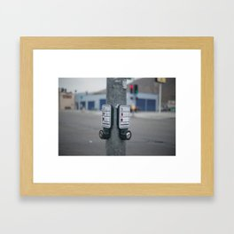 Stop, Go Framed Art Print