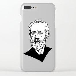 Pyotr Ilyich Tchaikovsky Clear iPhone Case
