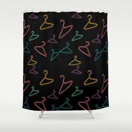 Hang up! II Shower Curtain