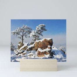Sentinels in the Snow Mini Art Print