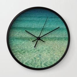 Retro Ocean Love Wall Clock