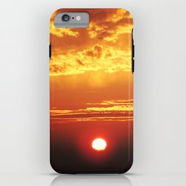 MM - Sunset of the city iPhone Case