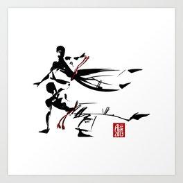 Capoeira 463 Art Print