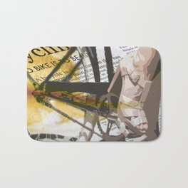 Bike Urban Chic Bath Mat