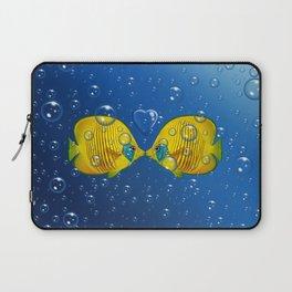 Fish love Laptop Sleeve