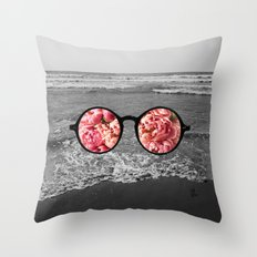 iFloral Throw Pillow