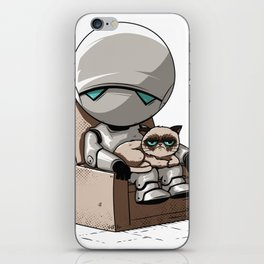 Don't talk to us... iPhone Skin