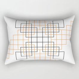 Simple Boxes Rectangular Pillow