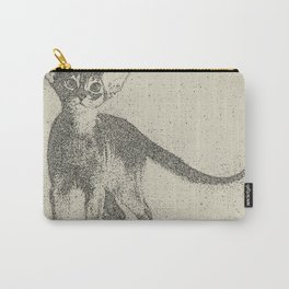 Abyssinian kitten dotted art Carry-All Pouch