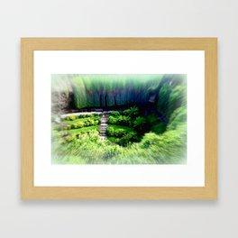 Umpherston Sinkhole #1 Framed Art Print
