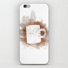 Coffee Stain iPhone & iPod Skin