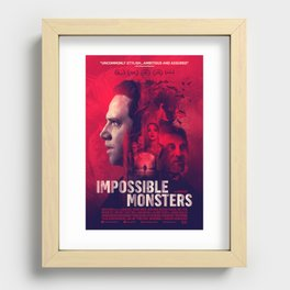 """""""Impossible Monsters"""" Theatrical Movie Poster Recessed Framed Print"""
