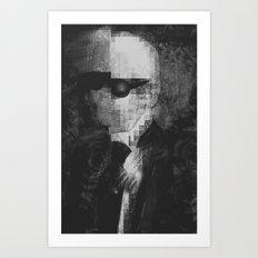 Karl Lagerfeld Star Futurism Limited Art Print