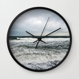 Pounding Surf Wall Clock