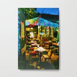 The Cafe Metal Print