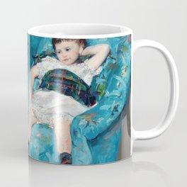 Mary Cassatt - Little Girl in a Blue Armchair Coffee Mug