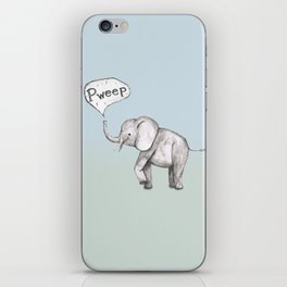 Cute elephant iPhone Skin