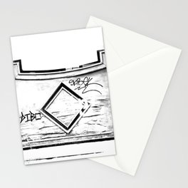 Madera vieja (Old wooden) Stationery Cards