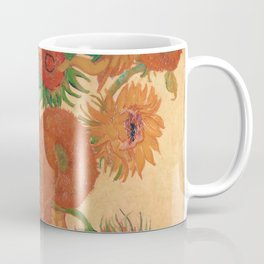 Still Life: Vase with Fourteen Sunflowers by Vincent van Gogh Coffee Mug