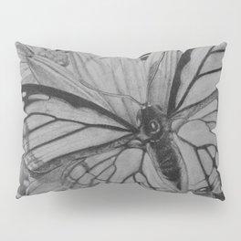 Monarch over Aster Pillow Sham