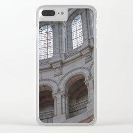 Sacre Coeur Basilica Clear iPhone Case